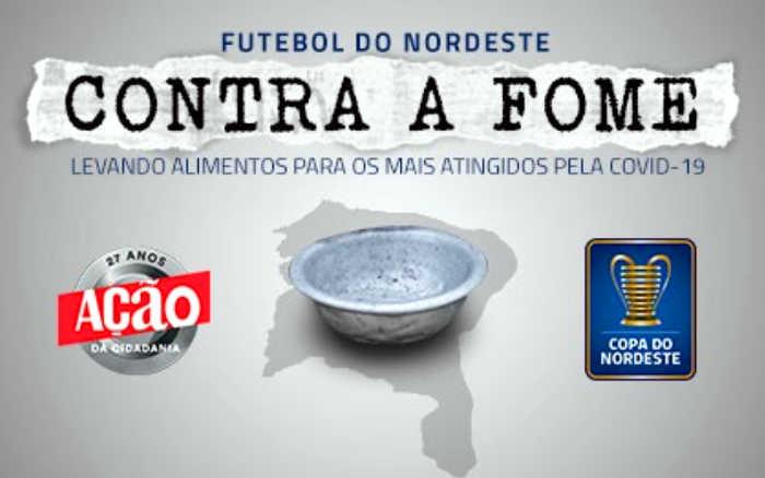 Coronavírus | Copa do Nordeste mobiliza campanha por 1 milhão de refeições