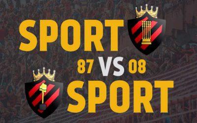 Análise | A seleção do Sport a partir dos títulos nacionais em 1987 e 2008