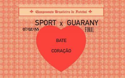Vídeo | Nos 115 anos do Sport, a reprise da final do Brasileiro de 87