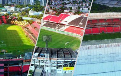 Passeio de drone em 4K na Ilha do Retiro, Arruda e Arena Pernambuco