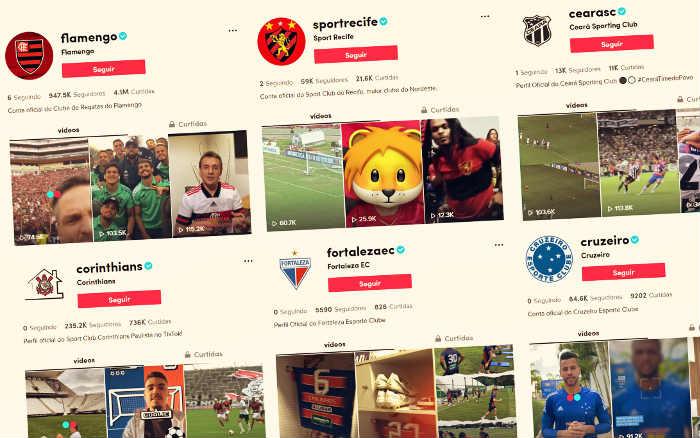 Ibope | O primeiro ranking de clubes no TikTok, a 5ª rede social da lista