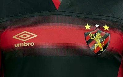 A linha de uniformes do Sport para a temporada 2020/2021, via Umbro