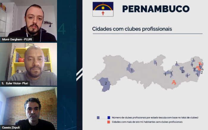 Vídeo | Analisando o futebol nos 9 estados do Nordeste com a Pluri Consultoria