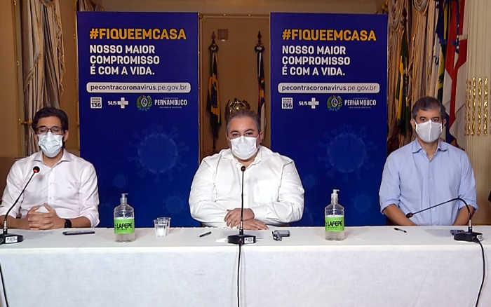 Governo de PE cria cronograma sobre volta do futebol em 4 fases. Largada em junho