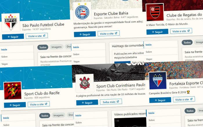 Linkedin | O ranking de clubes na rede social corporativa. Torcida ou oportunidade?