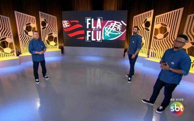 TV | As audiências do Fla-Flu no SBT, com Salvador registrando o menor índice