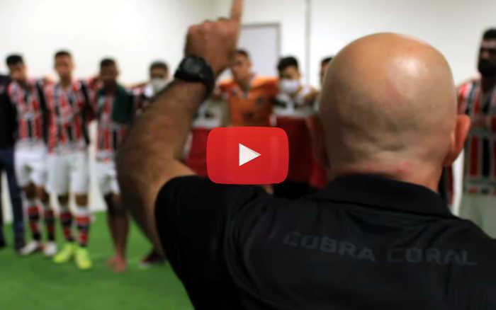 Vídeo | Os bastidores da classificação do Santa Cruz à final do Estadual 2020