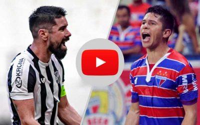 Antes do clássico, Ceará e Fortaleza duelam através dos jogos liberados no Youtube