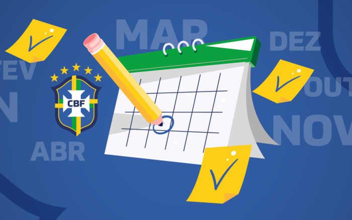 CBF revisa calendário do futebol para 2020. Agora, com jogos até fevereiro de 2021