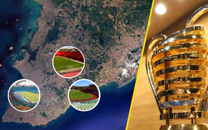 Salvador, a sede única para finalizar a Copa do Nordeste de 2020. Com apoio de Feira?