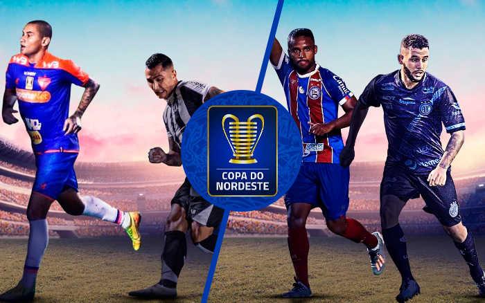Semifinal da Copa do Nordeste 2020 com Clássico-Rei e Bahia x Confiança