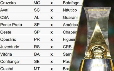 A nova tabela da Série B de 2020, com jogos de agosto a janeiro (de 2021)
