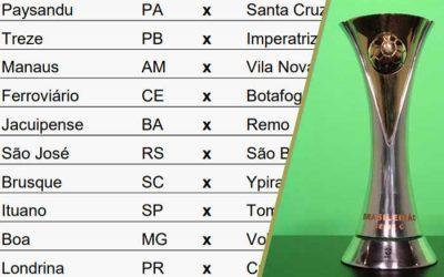 A nova tabela da Série C de 2020, com jogos de agosto a janeiro (de 2021)