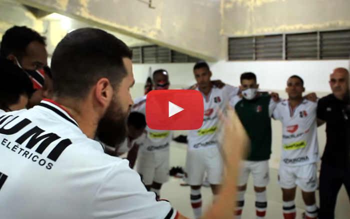 Vídeo | Os bastidores de Botafogo-PB 1 x 2 Santa Cruz, pela Série C de 2020