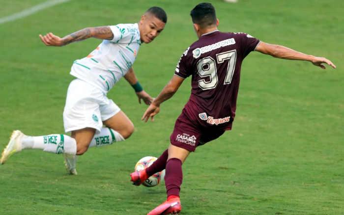 Em jogo de 6 gols, Náutico e Juventude empatam nos Aflitos. O 4º seguido do timbu
