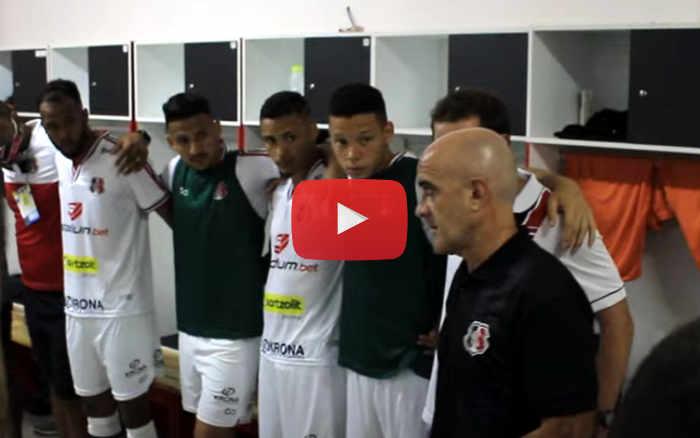 Vídeo | Os bastidores de Santa Cruz 2 x 0 Imperatriz, pela Série C de 2020