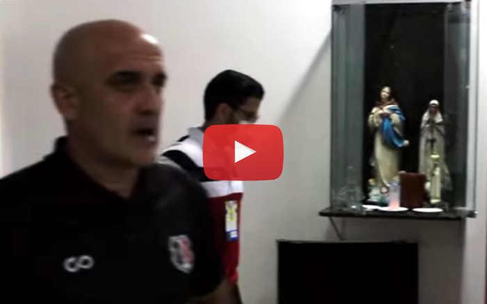 Vídeo | Os bastidores de Santa Cruz 3 x 2 Treze, pela Série C de 2020