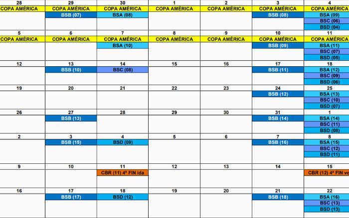 Análise | Calendário de 2021 começa 4 dias após o fim do Brasileirão 2020. Somente…