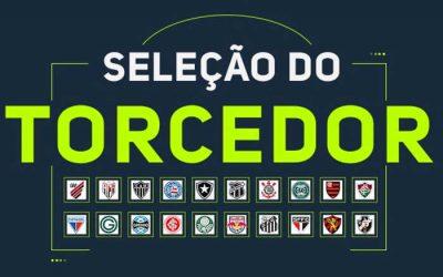 O ranking de jogadores na seleção da rodada do Brasileirão 2020, via voto popular