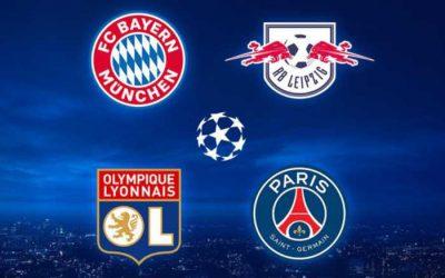 Semifinal da Champions League sem Messi e CR7. Duelos França x Alemanha