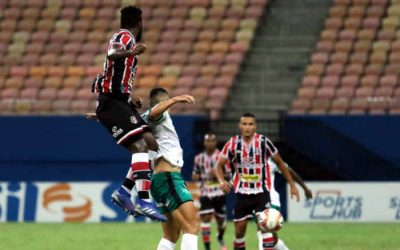 Em jogo morno, Santa Cruz empata com o Manaus na Arena da Amazônia