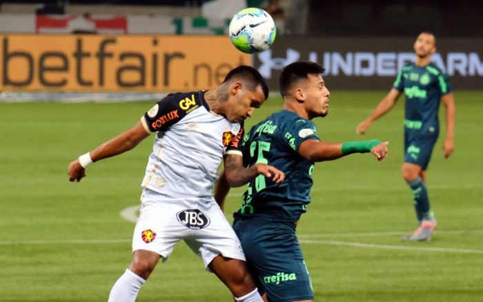 Em jogo duro, Sport arranca o empate com o Palmeiras no Allianz Parque