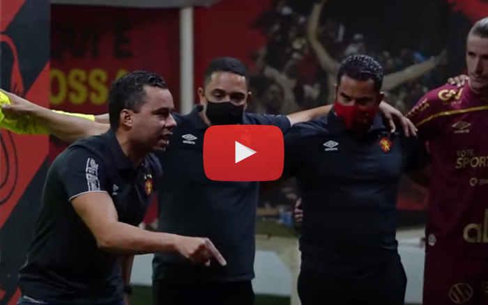 Vídeo | Os bastidores de Sport 1 x 0 Corinthians, pela Série A de 2020