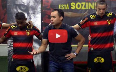 Vídeo   Os bastidores de Sport 2 x 1 Goiás, pela Série A de 2020