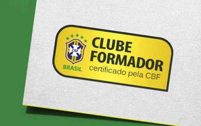 Os 26 clubes formadores certificados pela CBF em 2020, sendo apenas 3 do Nordeste