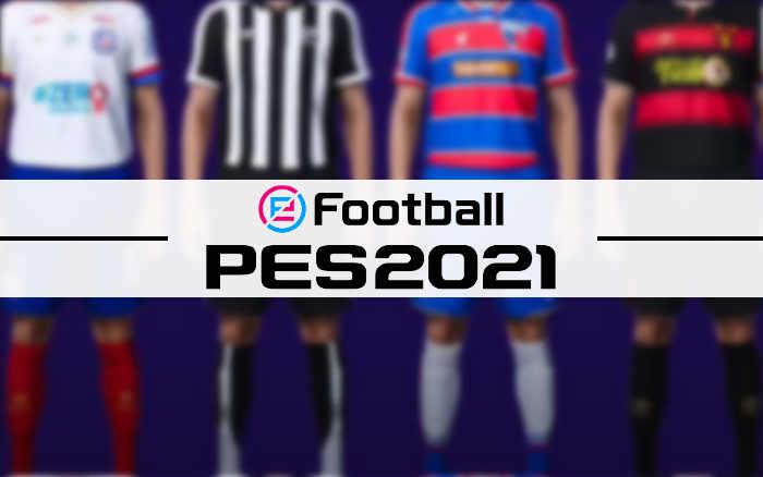 Game | Os uniformes e níveis dos times nordestinos licenciados no PES 2021