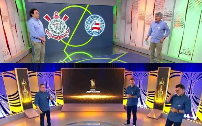 TV | As audiências do 1º duelo Globo x SBT, com Série A/Copa do Brasil x Libertadores