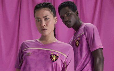 Sport lança camisa em homenagem ao Outubro Rosa e completa a linha rosa do trio de ferro