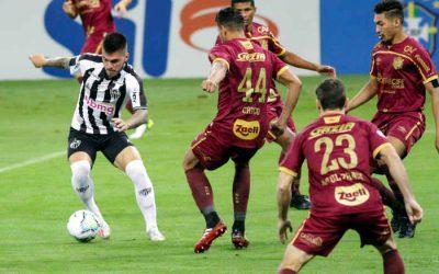 Fechado, o Sport segura a pressão do Atlético de Sampaoli e empata no Mineirão