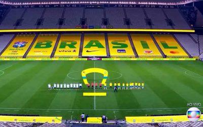 TV | O 1º jogo da Seleção Brasileira em 2020 crava 25 pontos no Ibope. O 2º? Um dígito