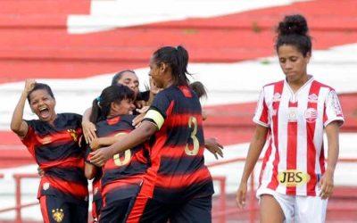 Após 225 dias, futebol feminino volta em PE com 7,5 mil views em clássico no Brasileiro