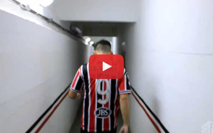 Vídeo   Os bastidores de Santa Cruz 2 x 1 Paysandu, pela Série C de 2020