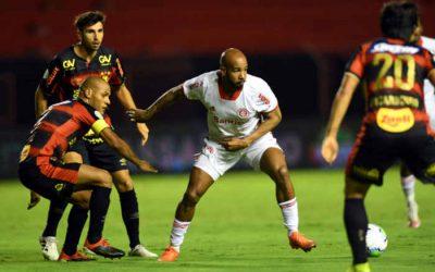 Sport leva 5 gols do Internacional na Ilha e perde a 3ª seguida no Brasileiro