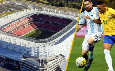 Brasil x Argentina na Arena Pernambuco. Neymar x Messi em Pernambuco…?