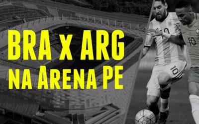 Vídeo   A expectativa para Brasil x Argentina em Pernambuco, pelas Eliminatórias
