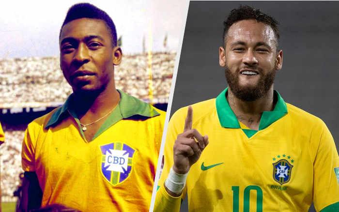 Top 10 | Só abaixo de Pelé, Neymar está a 13 gols da artilharia da Seleção. Vai buscar?