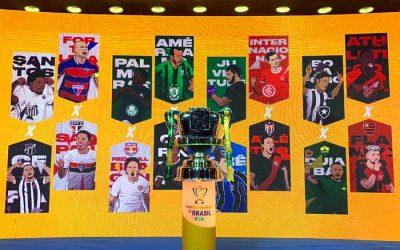 As oitavas de final da Copa do Brasil de 2020, com 2 nordestinos. Valendo R$ 3,3 milhões