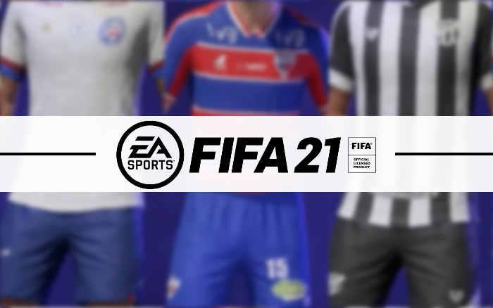 Game | Os uniformes e níveis dos times nordestinos licenciados no Fifa 21
