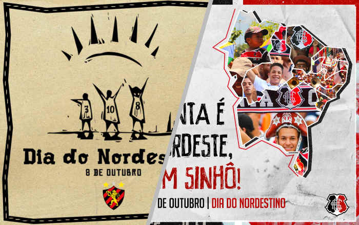 As mensagens dos clubes no Dia do Nordestino em 8 de outubro de 2020