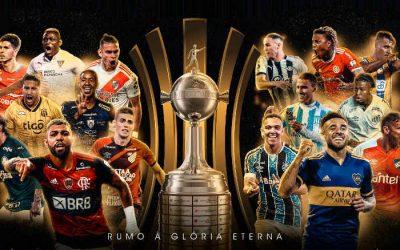 O mata-mata da Taça Libertadores de 2020, com 6 dos 8 clubes brasileiros