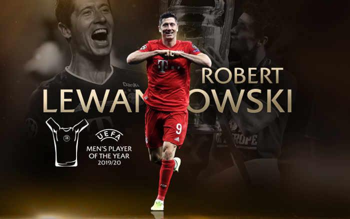 Lewandowski, o melhor jogador da Europa em 2019/2020. Spoiler do The Best?