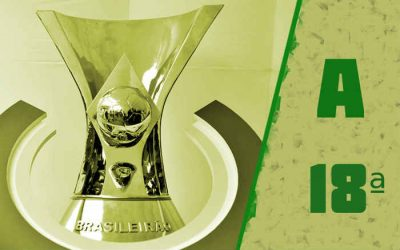 A classificação da Série A de 2020 após a 18ª rodada, com liderança dividida