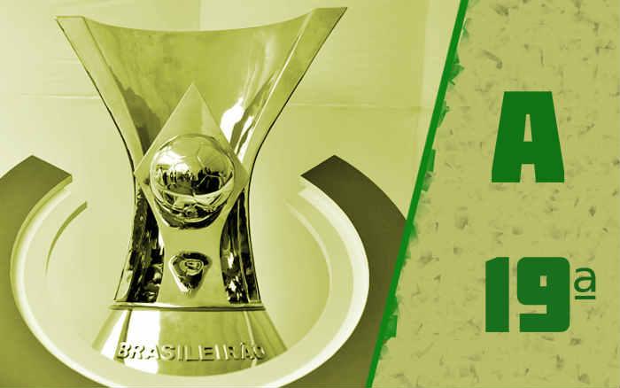 A classificação da Série A de 2020 após a 19ª rodada. Fim do 1º turno (sem campeão)