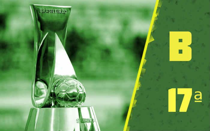 A classificação da Série B de 2020 após a 17ª rodada, com a Chapecoense na ponta