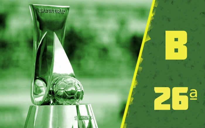 A classificação da Série B de 2020 após a 26ª rodada; Cuiabá de volta ao G4