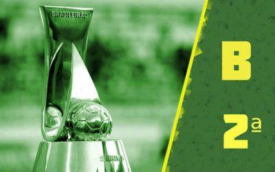A classificação da Série B de 2021 após a 2ª rodada; timbu na vice-liderança